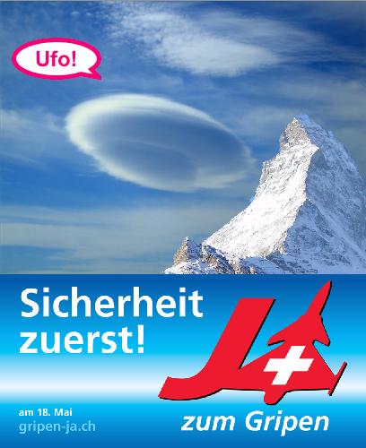 Gipen Matterhorn UFO